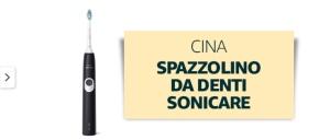Spazzolino da denti sonicare venduto e spedito da Amazon