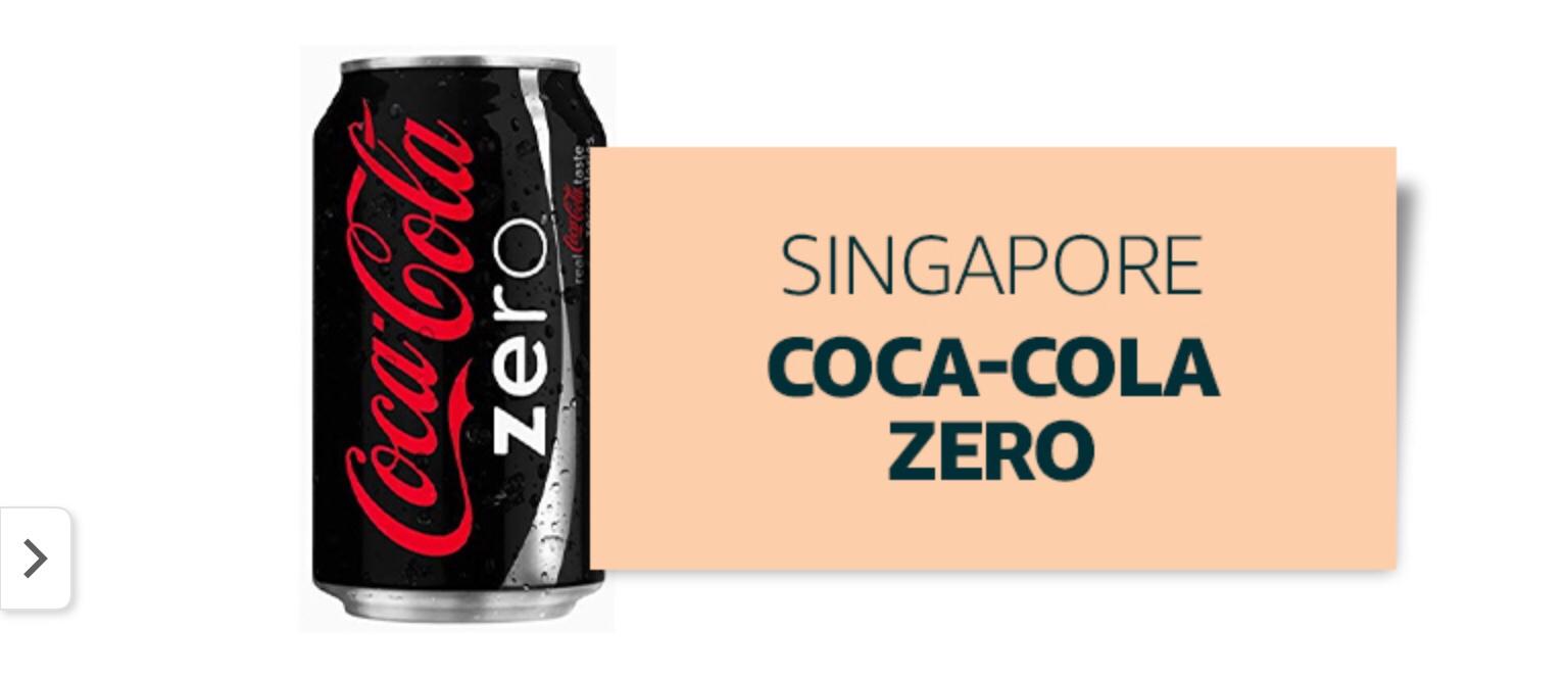 Coca cola venduta e spedita da Amazon