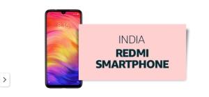 Redmi smartphone venduto e spedito da Amazon